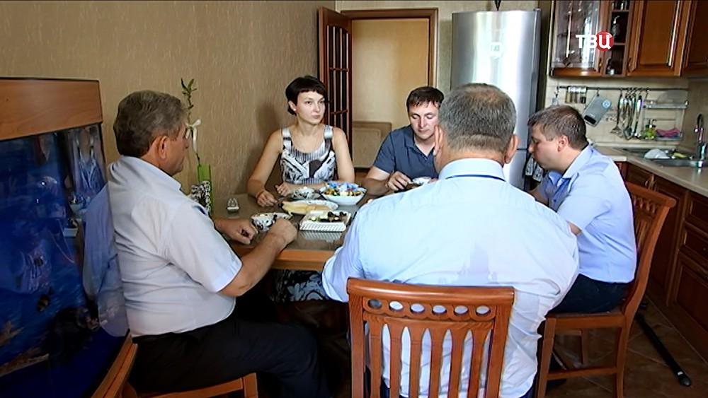Члены семьи Прокудиных служит в ГИБДД несколько поколений
