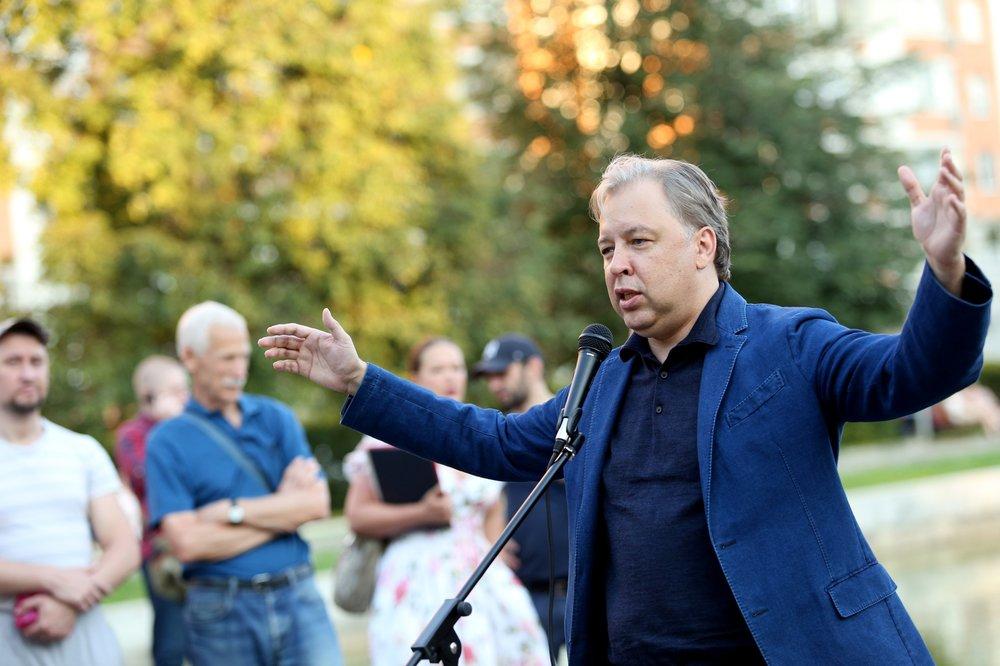 Встреча кандидата в мэры Москвы Вадима Кумина с жителями