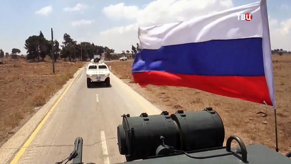 Военная полиция России (MP) и миротворцы ООН
