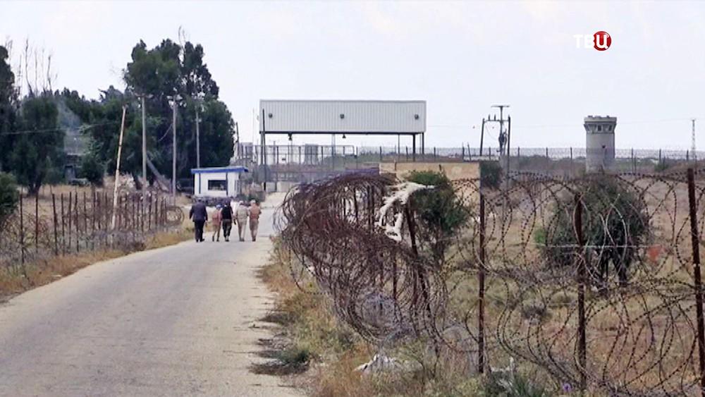 Граница Сирии и Израиля