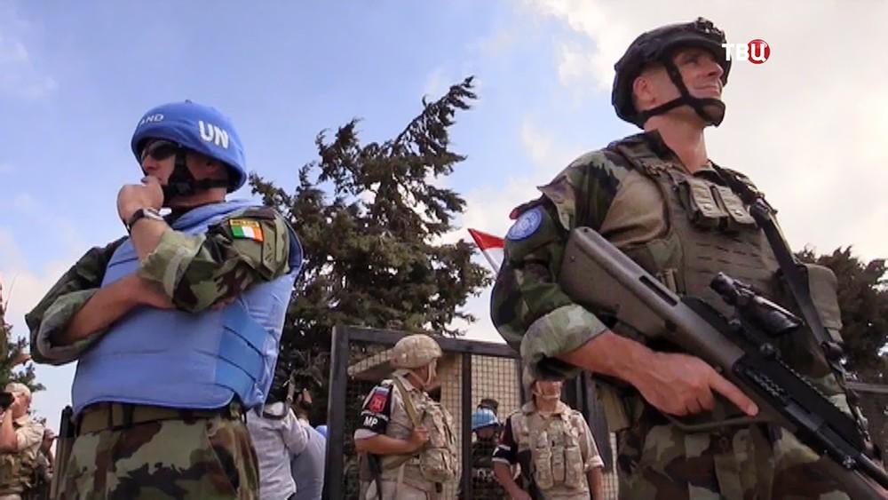 Миротворцы ООН и военная полиция России (MP)