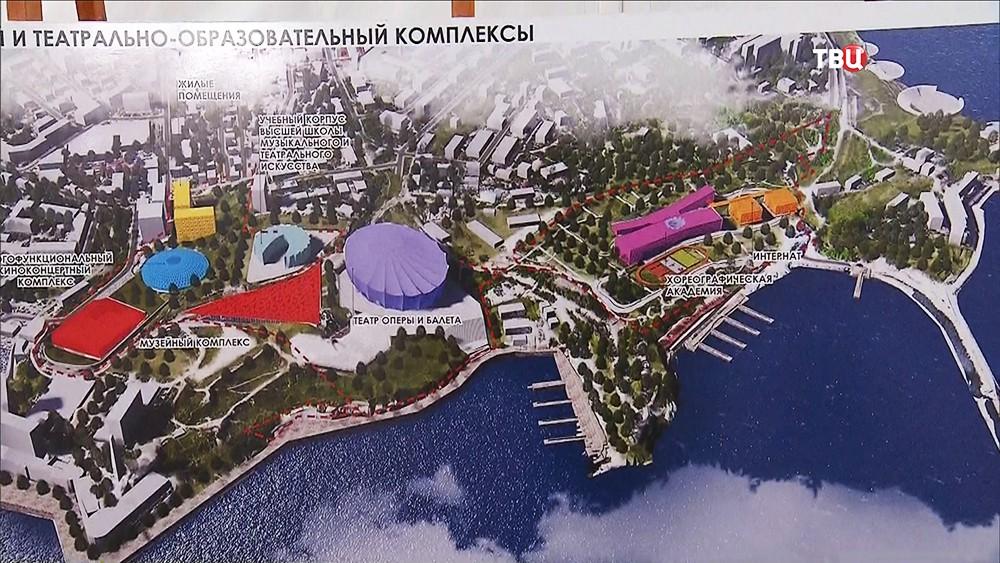 Проекто музейного и театрально-образовательного комплексов в городе Севастополе