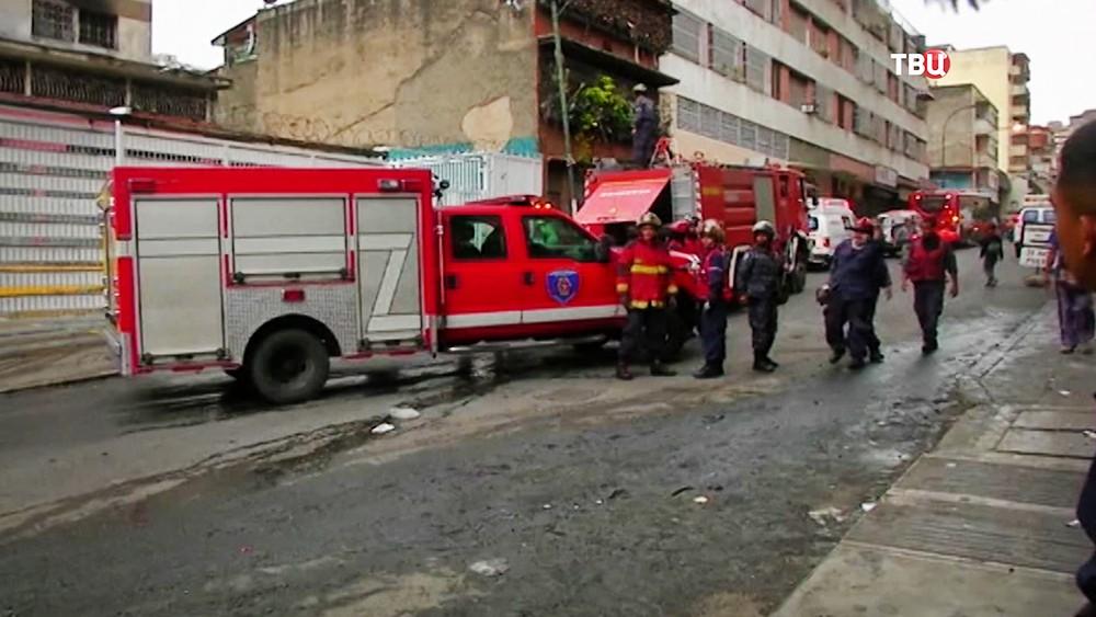 Пожарные Венесуэлы