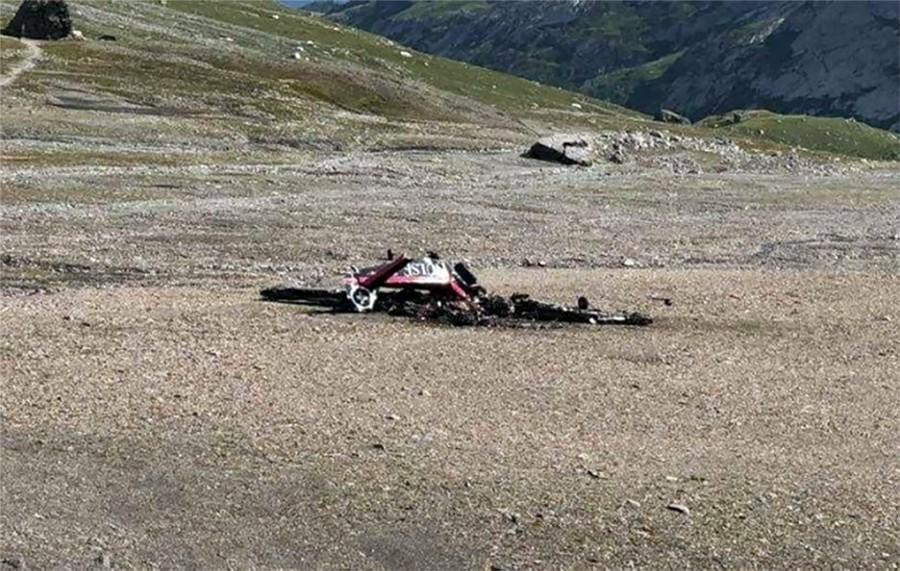 Последствия крушения самолёта Junkers Ju-52