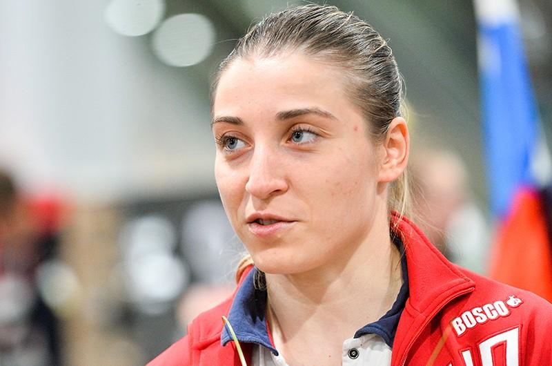 Спортсменка сборной России Дарья Шмелева