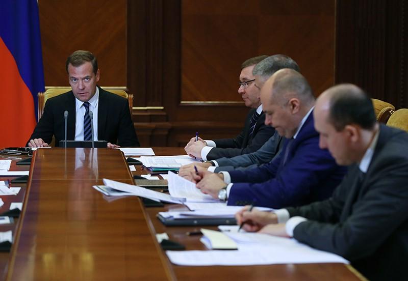 Дмитрий Медведев проводит совещание о расходах федерального бюджета на 2019 год