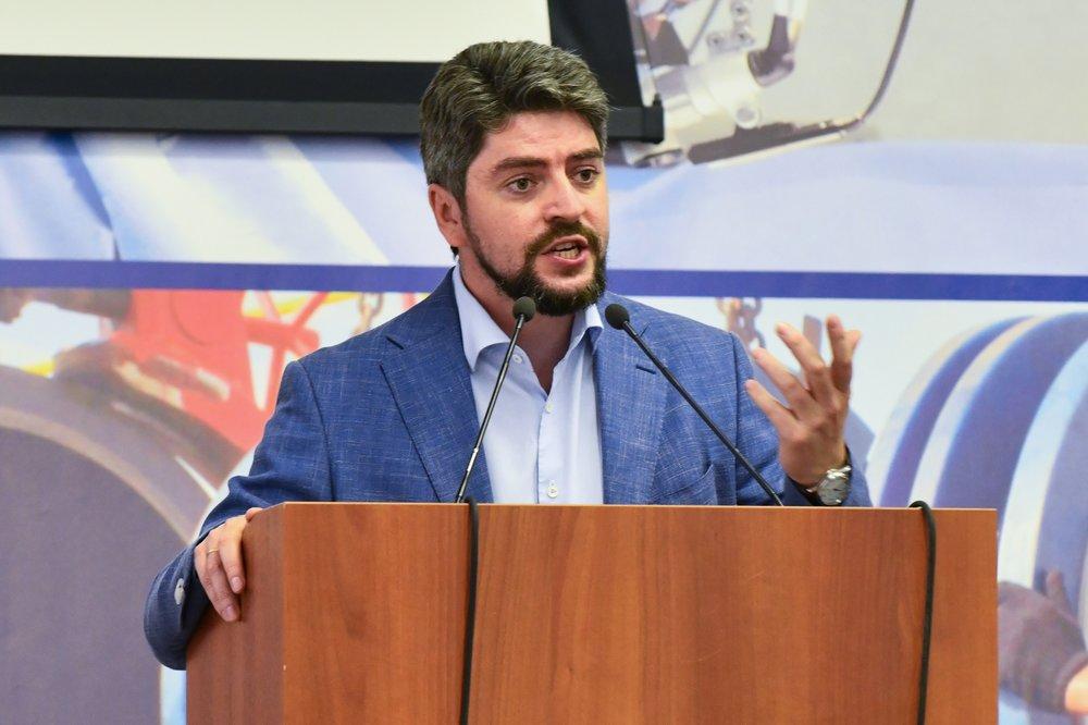 Встреча кандидата в мэры Москвы Ильи Свиридова с членами Московского городского союза автомобилистов