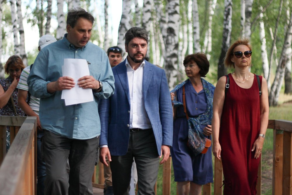 Встреча кандидата в мэры столицы Ильи Свиридова