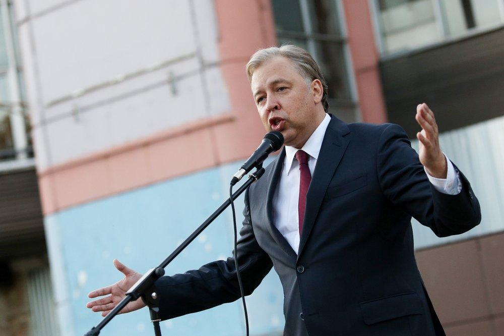 Встреча кандидата в мэры Москвы от КПРФ Вадима Кумина