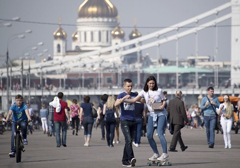 Открытие 90-го летнего сезона в Парке Горького