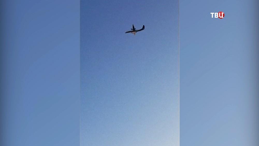 Самолет Bombardier Q400 авиакомпании Alaska Airlines