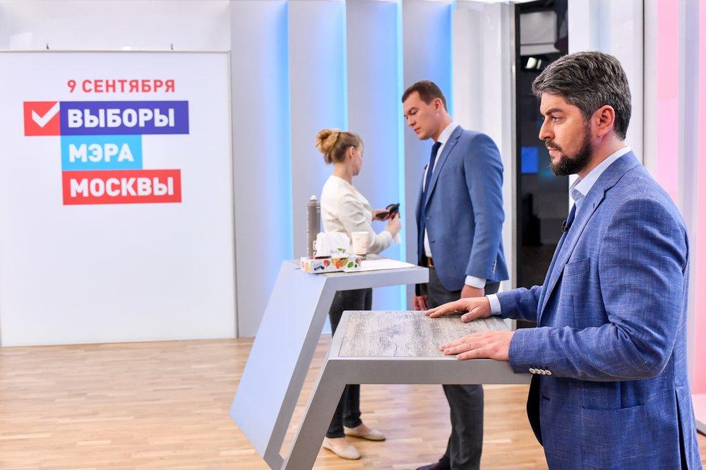 Теледебаты кандидатов на пост мэра столицы