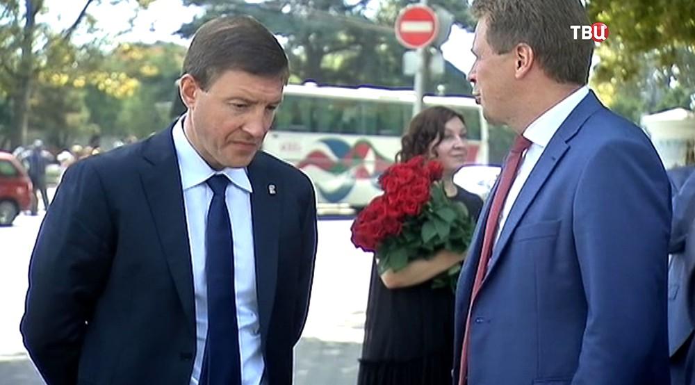 Заместитель председателя Совета Федерации Федерального Собрания Андрей Турчак