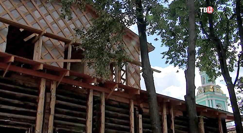 Реставрация деревянного дома с в Елоховском переулке