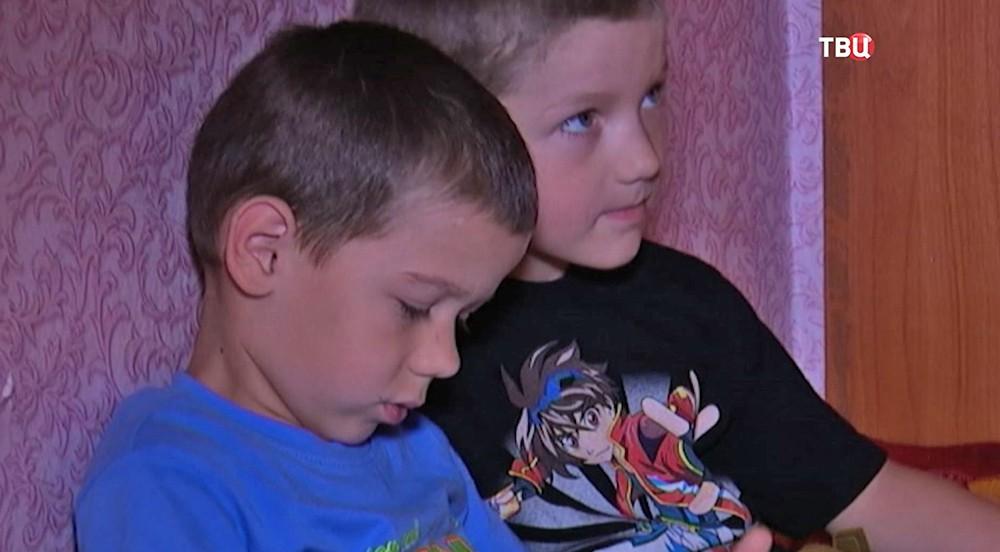 Дети из Челябинской области