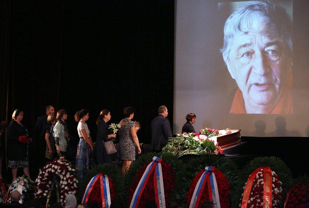Прощание с писателем Эдуардом Успенским