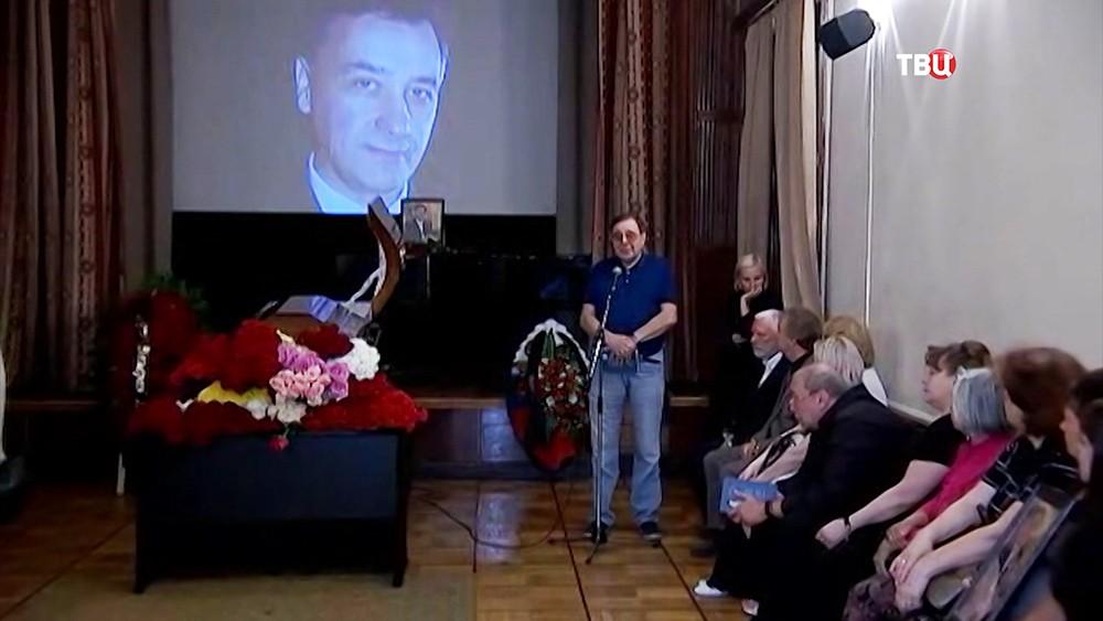 Прощание с поэтом Николаем Зиновьевым