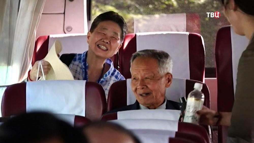 Встреча семей, разлученные Корейской войной в КНДР