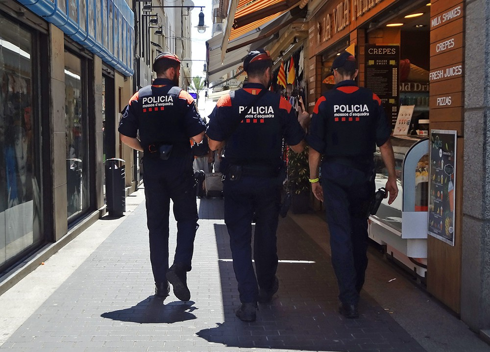 Полиция Каталонии