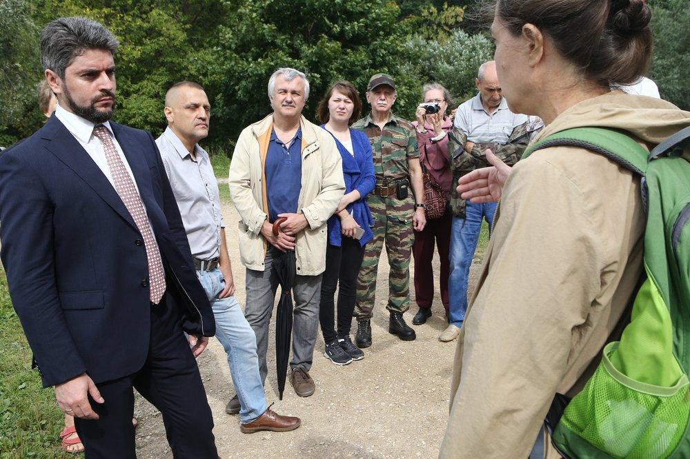 Встреча кандидата в мэры Москвы Ильи Свиридова с жителями