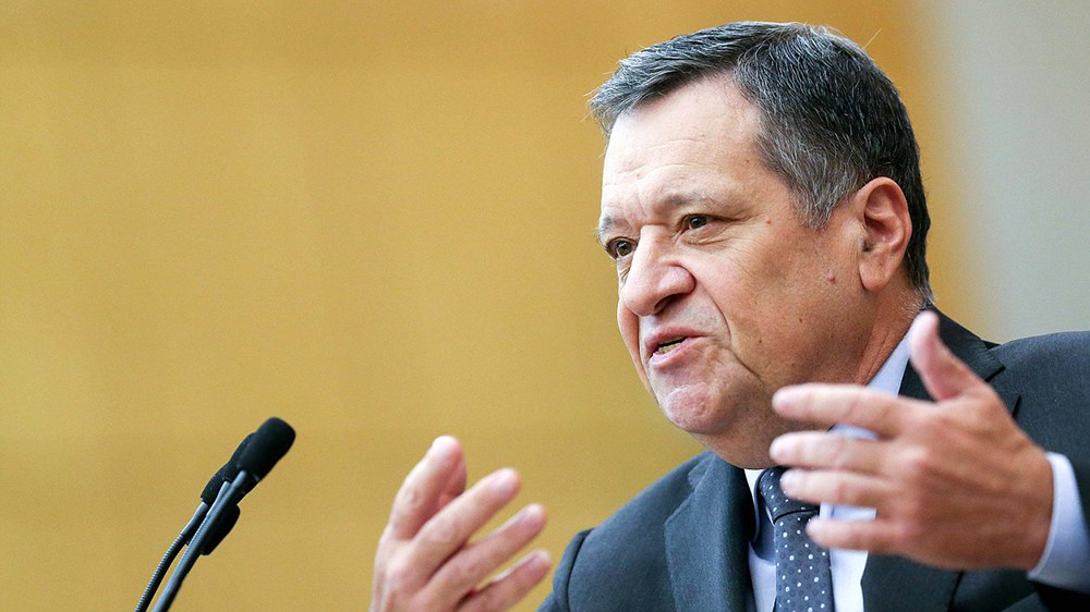 Председатель Комитета по бюджету и налогам Андрей Макаров