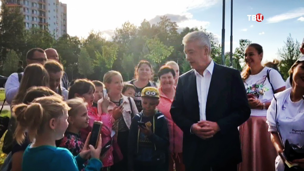 Сергей Собянин посетил Зеленоград