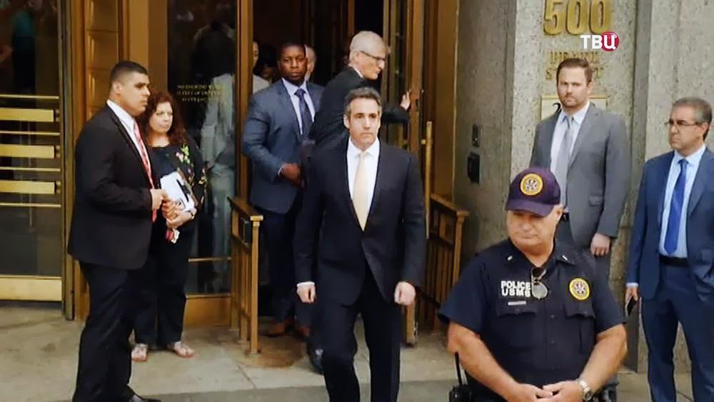 Бывший адвокат Дональда Трампа Майкл Коэн