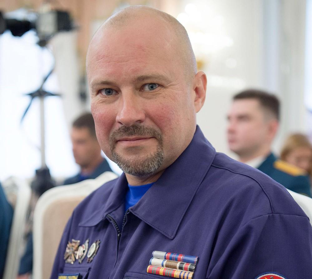 Евгений Герасимович - водолаз поисково-спасательного отряда МЧС