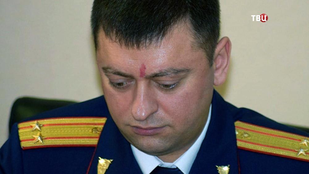 Сотрудник саратовского СК Аристотель Ашкалов