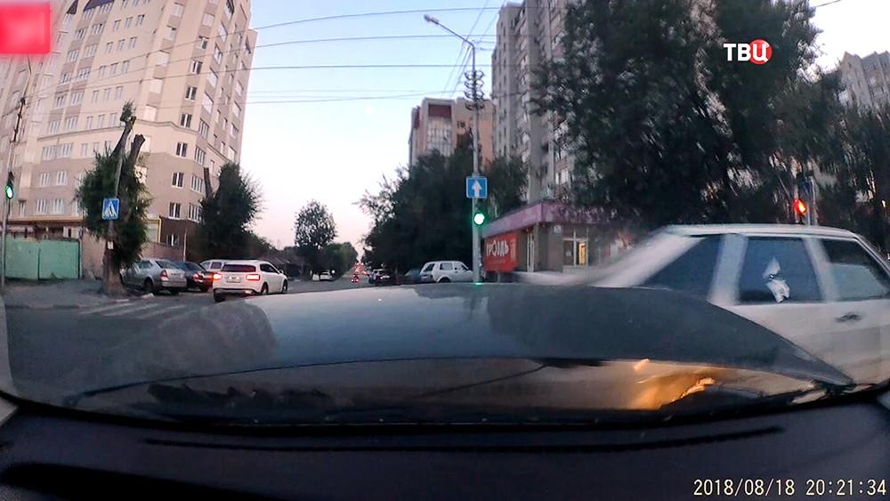 ДТП с участием майора саратовской полиции Николая Панкова