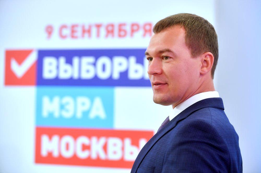 Кандидат на пост мэра Москвы от ЛДПР Михаил Дегтярев