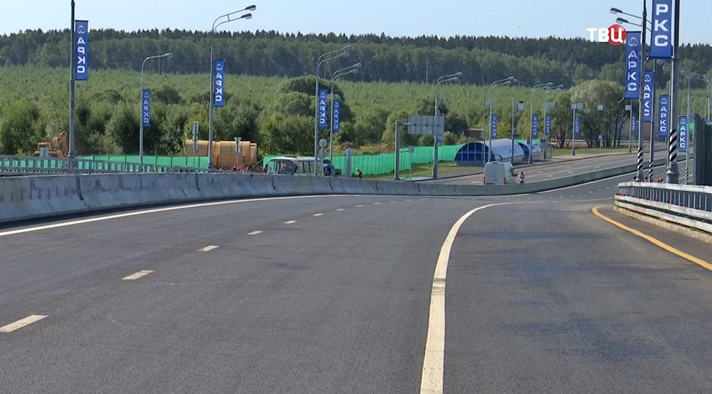 Калужское шоссе в Новомосковском округе