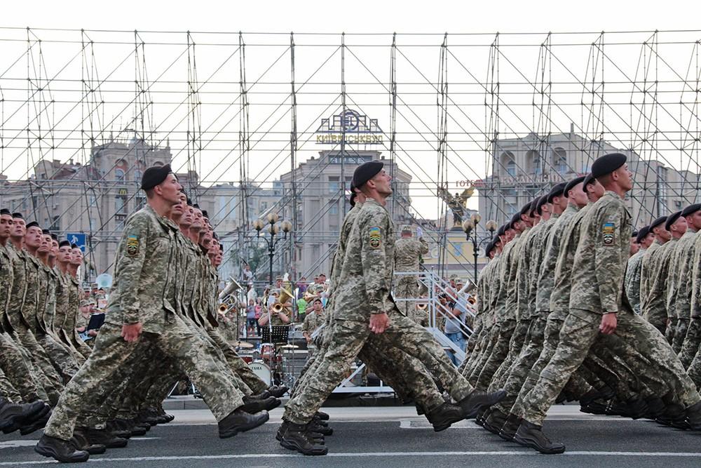 Военный парад на Украине