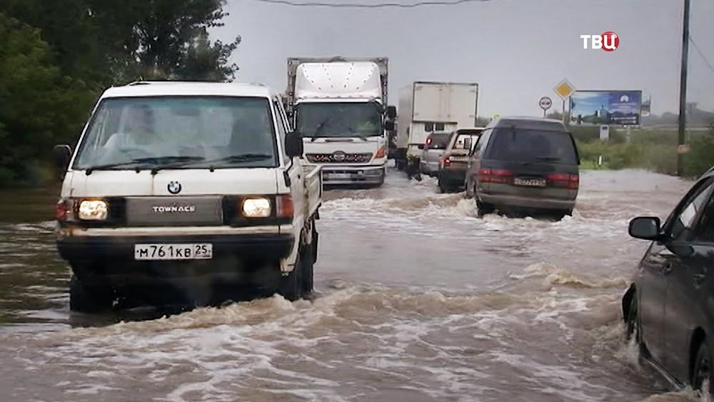 Последствия паводков в Приморье
