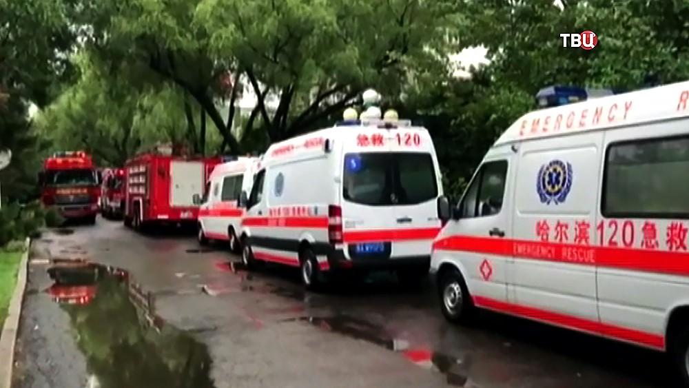 Машины скорой помощи в Китае