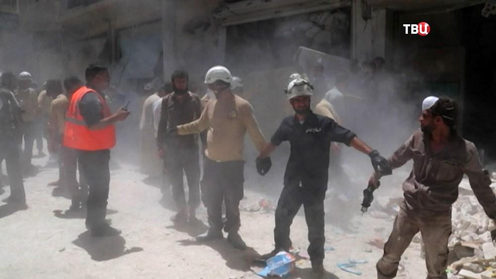 """""""Белые каски"""" из Сирии"""
