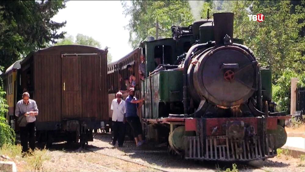 Железная дорога в Сирии