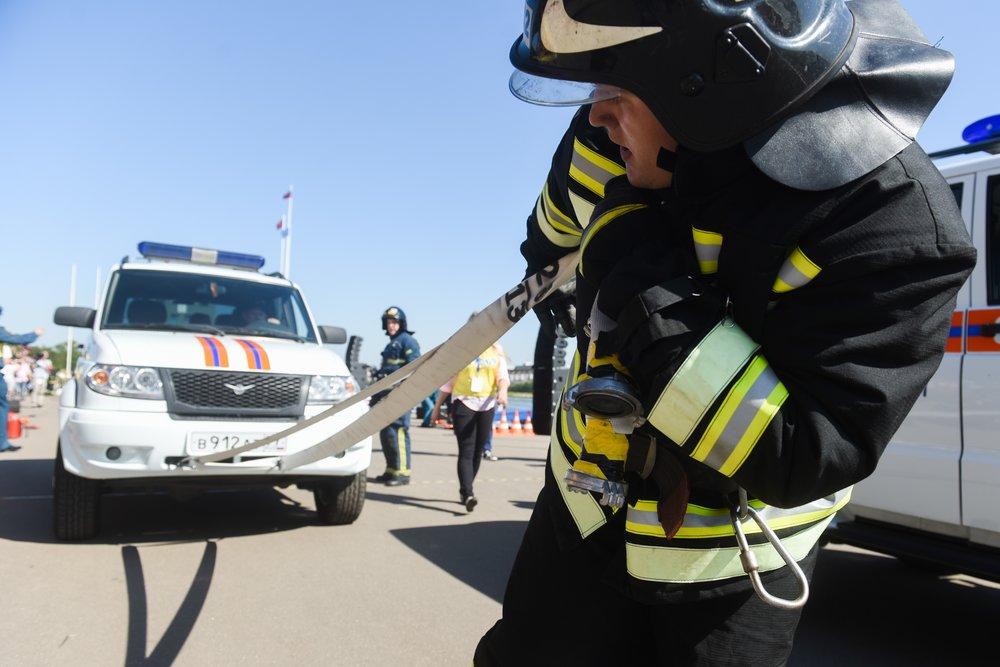 Соревнования спасателей МЧС России