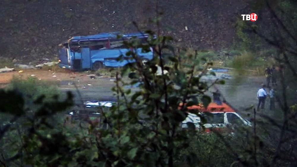 ДТП с участием автобуса в Болгарии