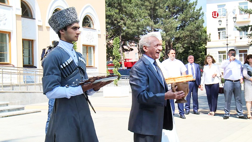 Праздник в Южной Осетии