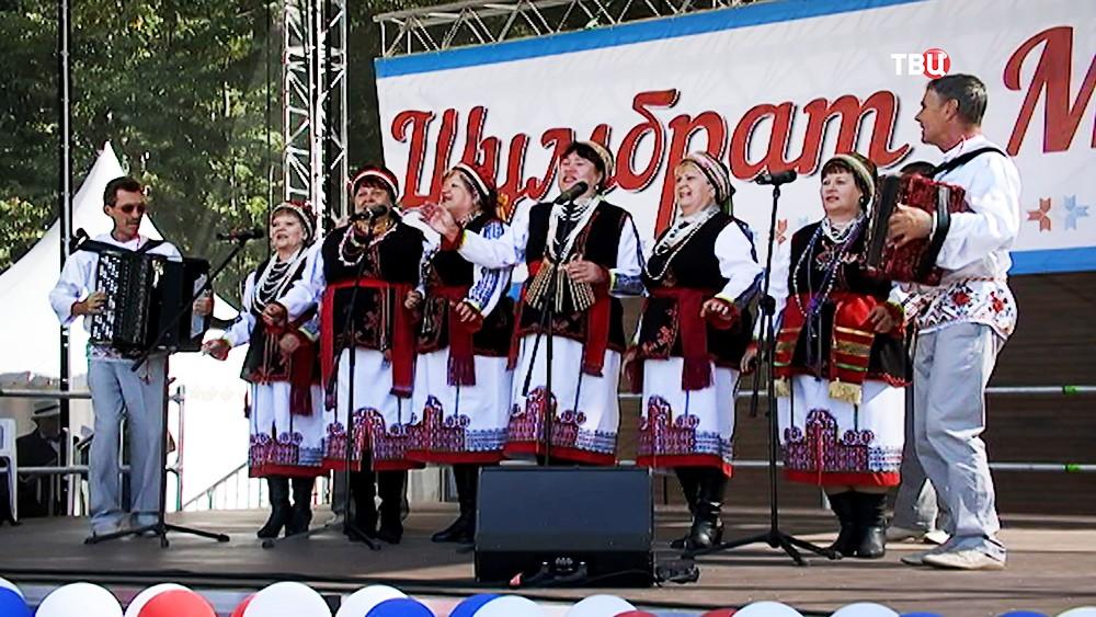 Национальный мордовский праздник Шумбрат