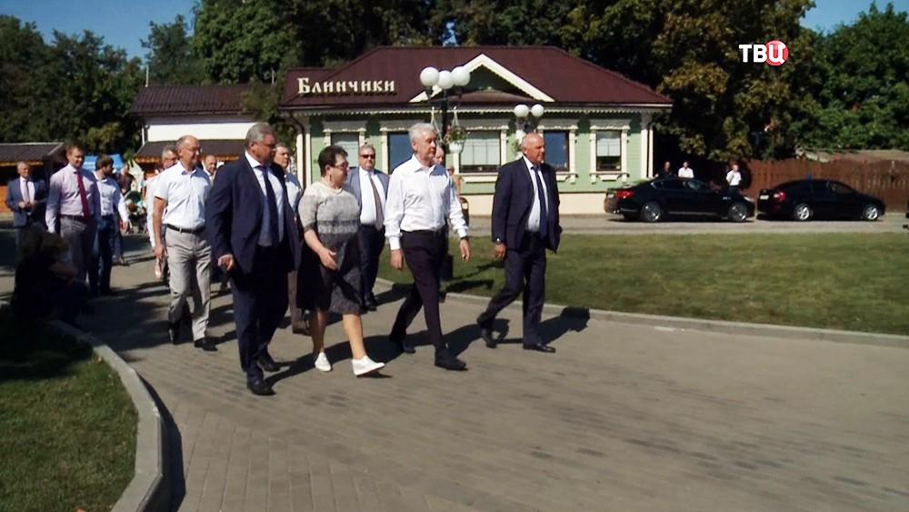Сергей Собянин посетил Владимир