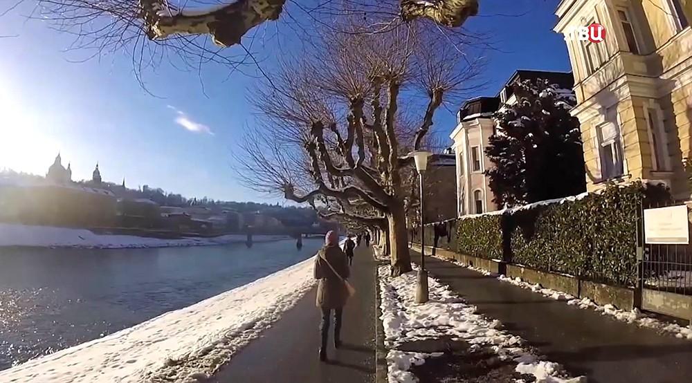 Снег в Европе