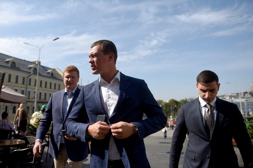 Кандидат на пост мэра Москвы Михаил Дегтярев