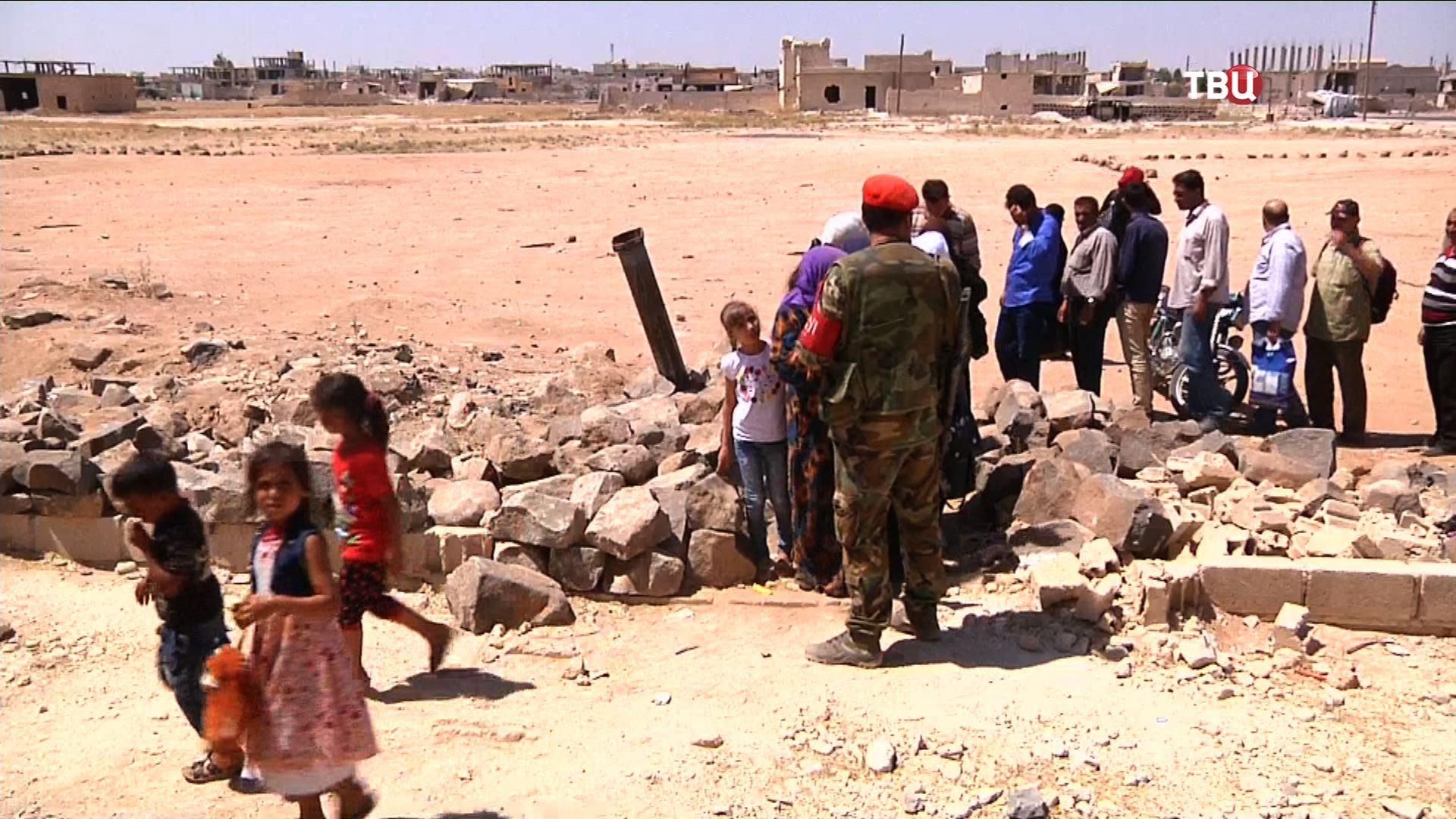 Мирный коридор в Сирии