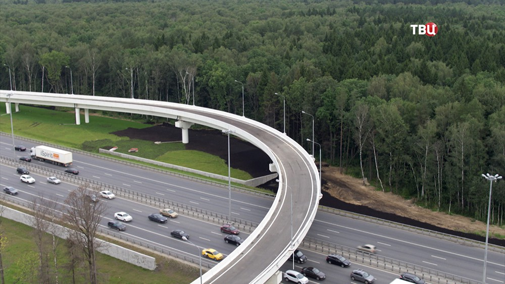 Новая трасса от Киевского до Калужского шоссе