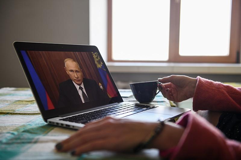 Трансляция обращения Владимира Путина к гражданам России