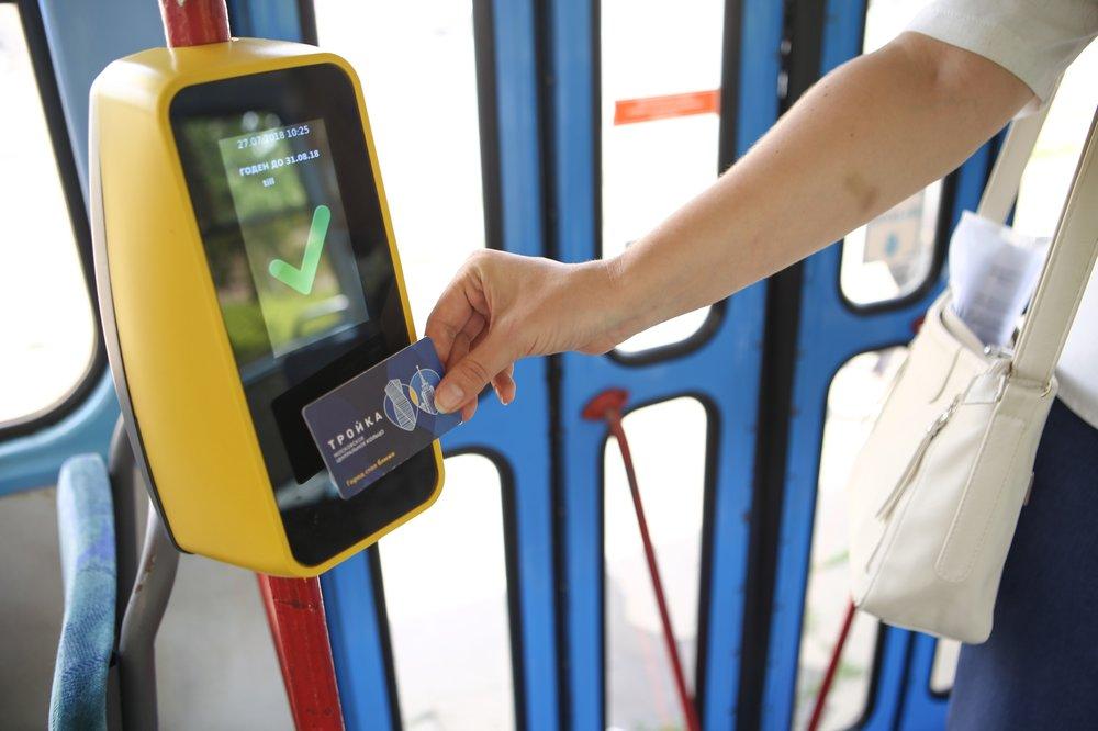 Бестурникетная система в общественном транспорте