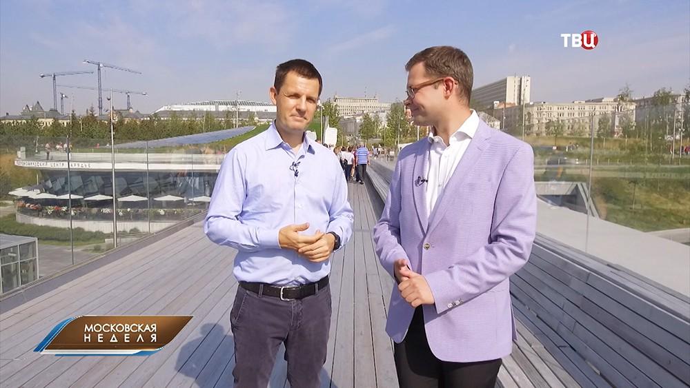 Главный архитектор Москвы Сергей Кузнецов во время интервью
