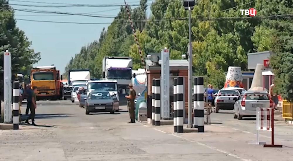 Граница в Донецке